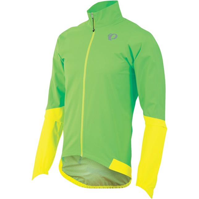 Mens Elite WxB Jacket Green/Yellow