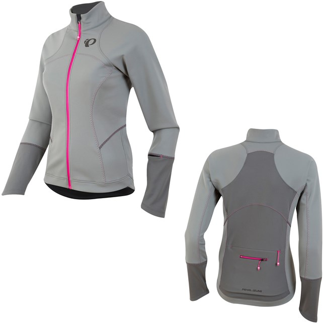 Womens Elite Escape SoftShell Jacket Grey/Smoked Pearl