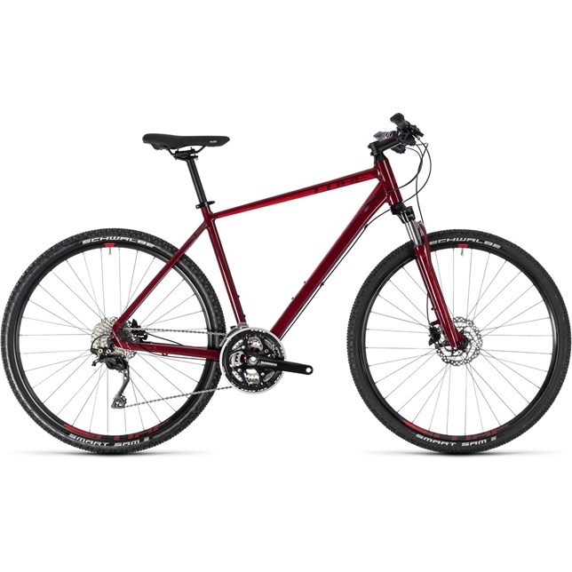 Cube Nature 2018 SL Dark Red/Red