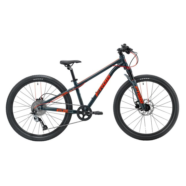 Frog 62 Kids Mountain Bike Grey/Red