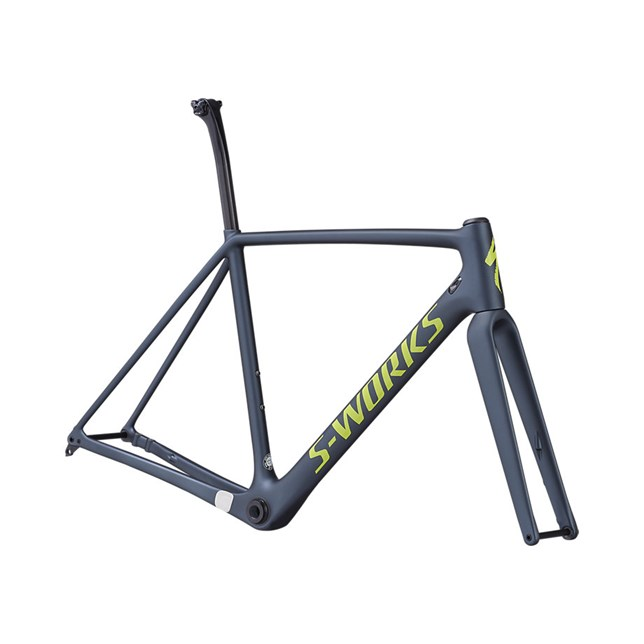 S-Works Crux 2019 Frameset Satin Battleship/Gloss Hyper/Clean