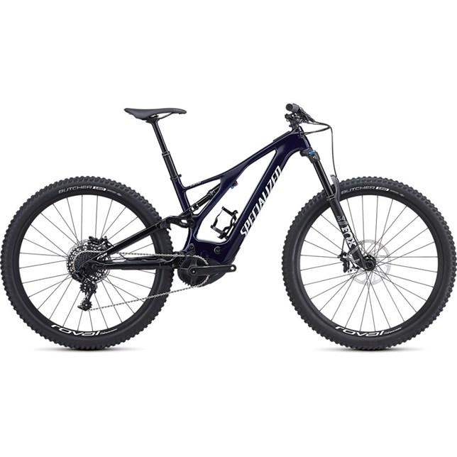 Specialized Mens Turbo Levo FSR Comp Carbon 29 2019 Blue Tint/White