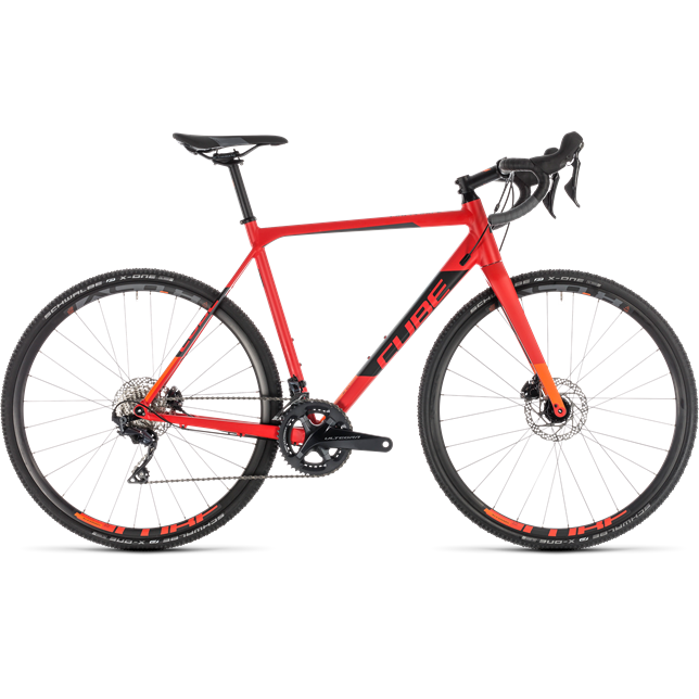 Cube Cross Race SL 2019 Mens Red/Orange