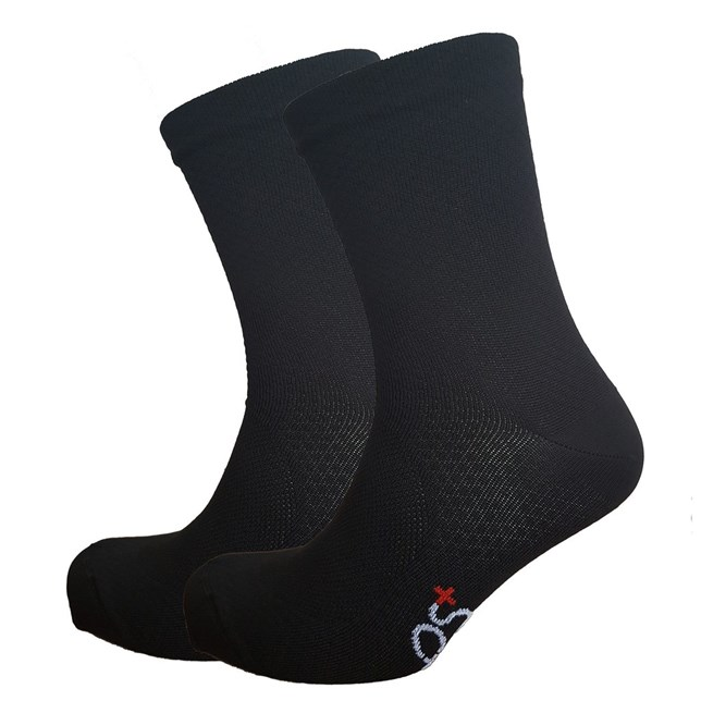 PS+ Diamond High Cuff Sock Black