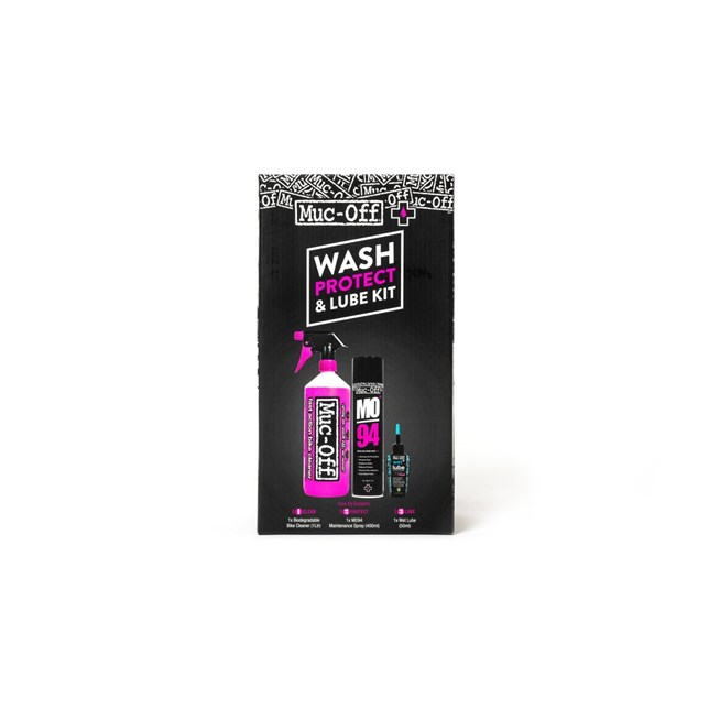 Muc Off Cleaning Kit Wash Protect Lube