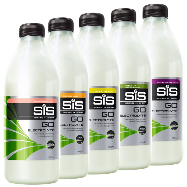 SIS GO Electrolyte Blaclcurrant Energy Drink 500g