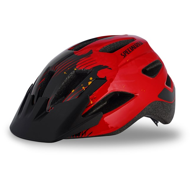Specialized Shuffle Child LED 2018 Red/Black Flames