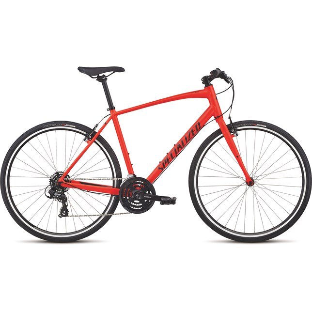 Specialized Mens Sirrus Alloy 2018 Rocket Red/Black/Reflective