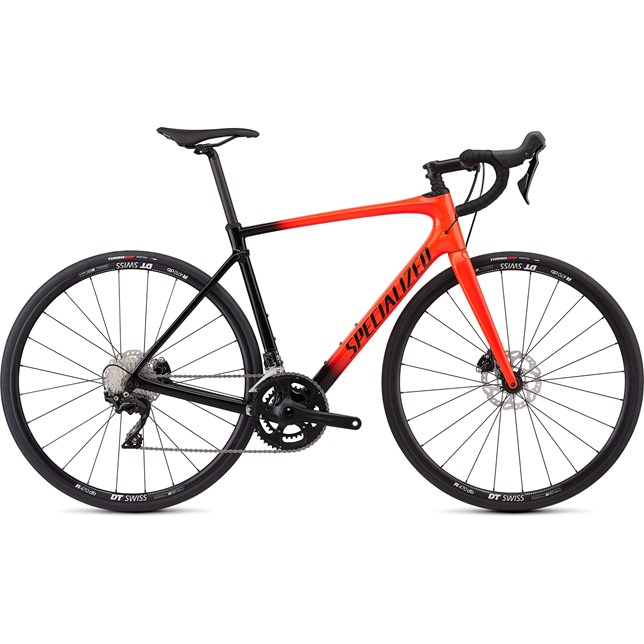 Specialized Roubaix Sport Mens 2019 Gloss Rocket Red/Black Fade