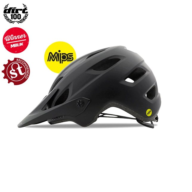 Giro Chronicle MIPS Mens Mountain Helmet Matte/Gloss Black